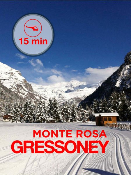 Val de Gressoney - 15 minute flight from Aosta