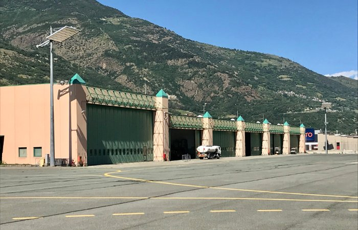Hangar Airport Aosta