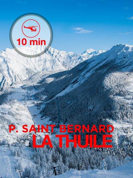 La Thuile - 10 minute flight from Aosta